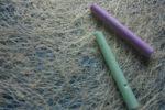 Two sticks of chalk